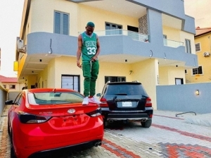 Zlatan Ibile Gifts Himself Two New Cars And A House (Photo)